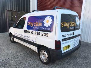 stay clean van